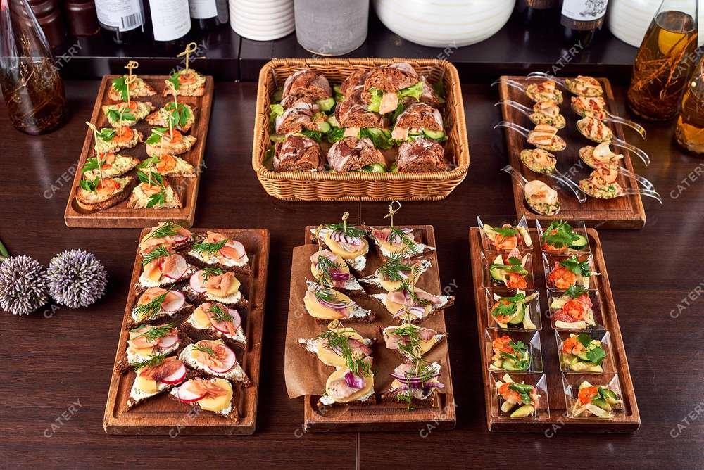 Semplice Catering Сет «Дары Средиземного моря»