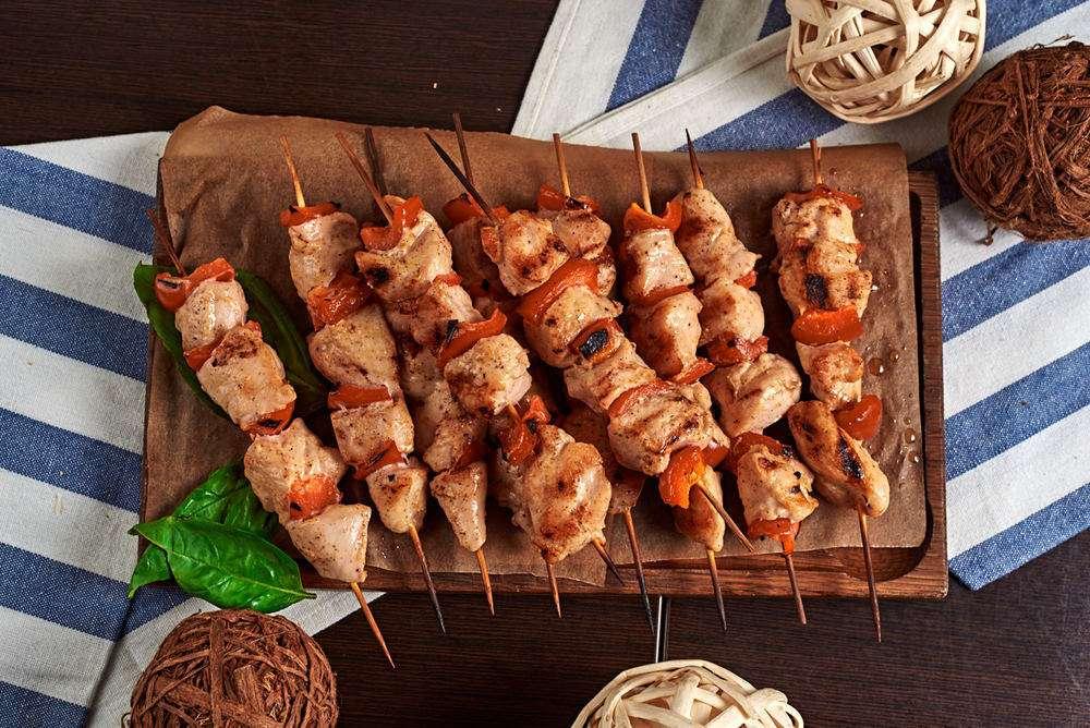 Semplice Catering Куриный шашлык с болгарским перцем