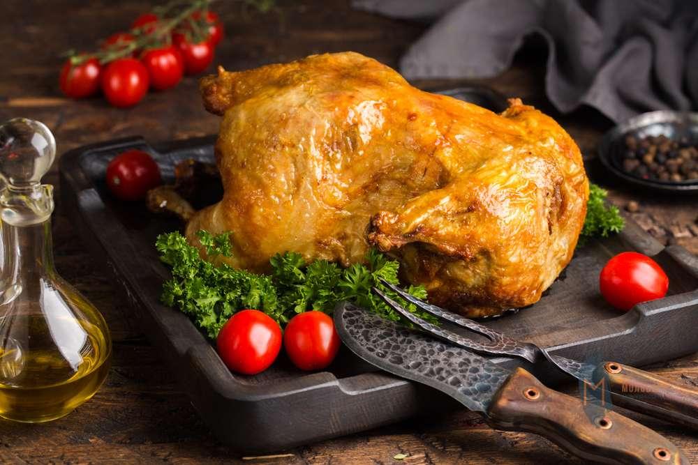 Мольберт Цыпленок запеченный