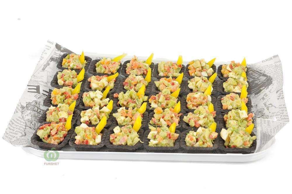 Assorty Furshet Тарталетки с салатом Мавританский