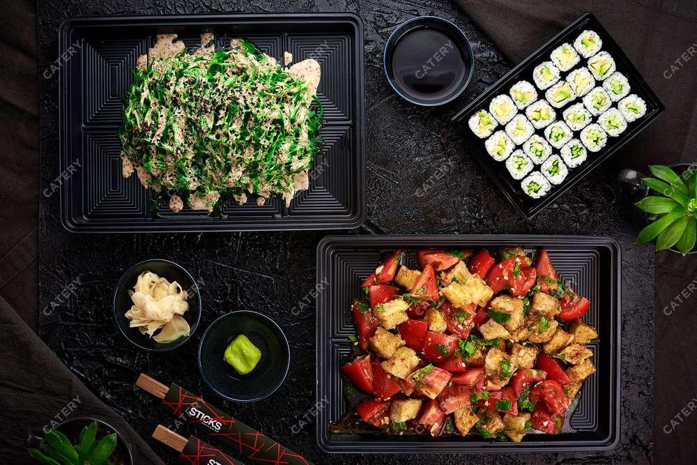 Sticks Sushi Bar Платтер-сет «Вегетарианский»