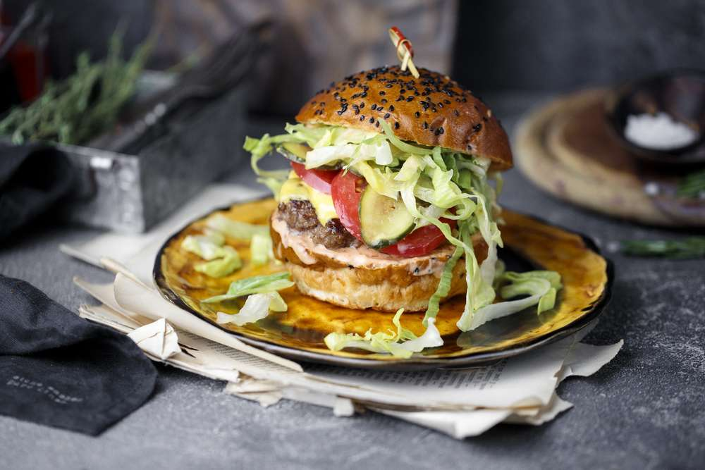 Primebeef Bar Мраморный чизбургер