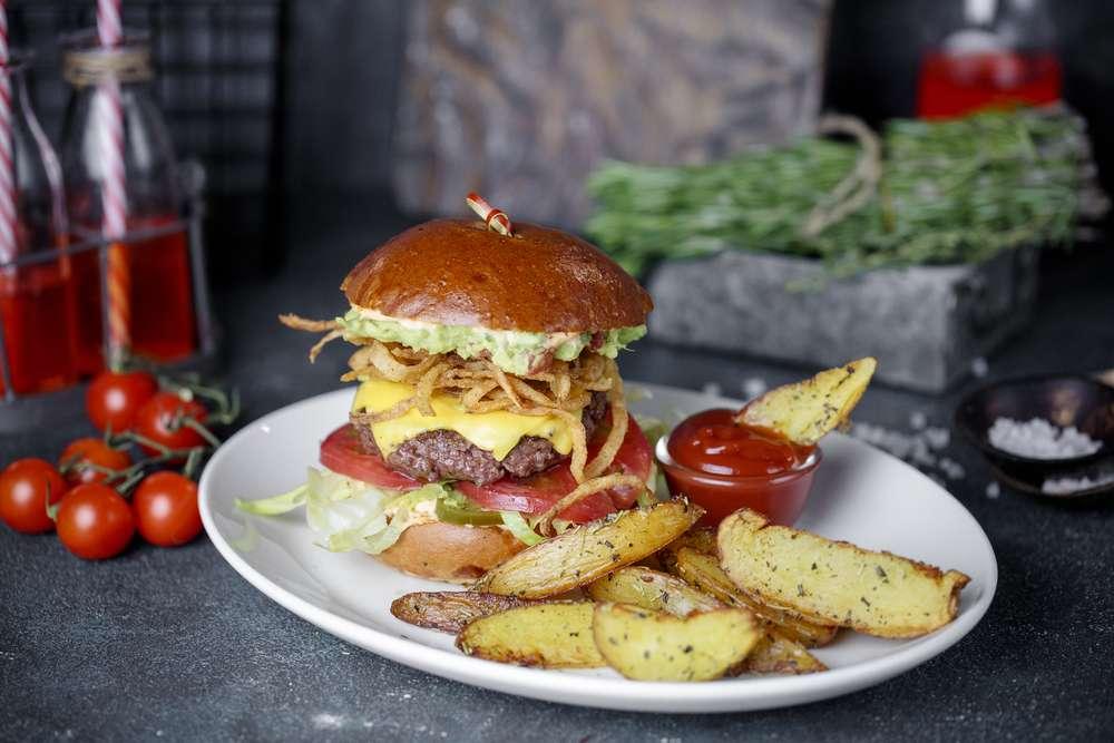 Primebeef Bar Калифорнийский бургер
