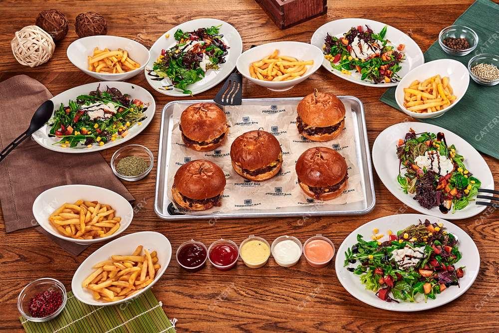 Primebeef Bar Бургер-сет «Итальянские каникулы»