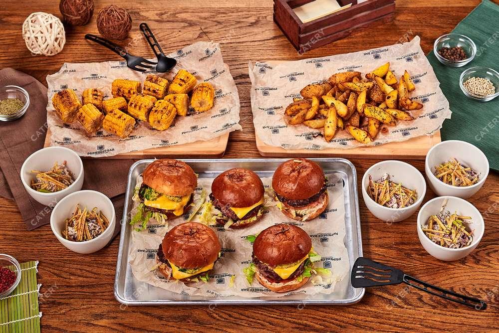 Primebeef Bar Бургер-сет «Калифорния»