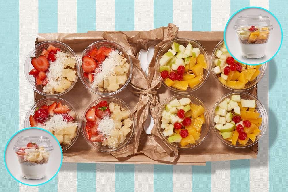 Parus Catering Healthy Breakfast с гранолой