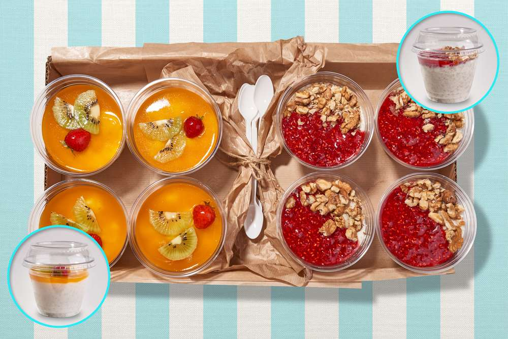 Parus Catering Healthy Breakfast с кашей