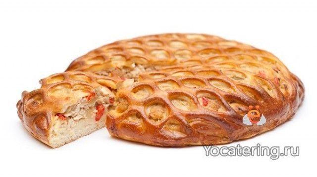 ёКейтеринг Пирог с курицей и перцем