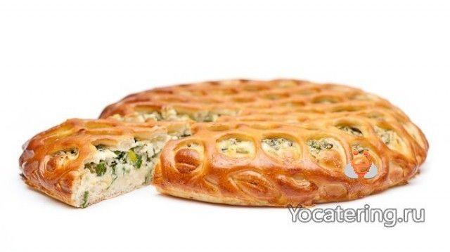 ёКейтеринг Пирог с луком и яйцом