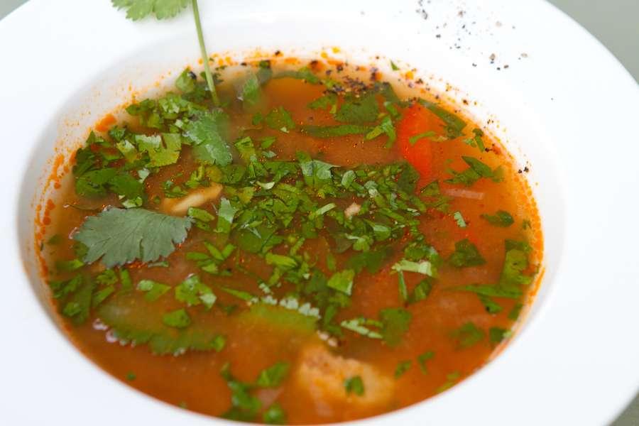 Хачапури Суп Харчо из говядины