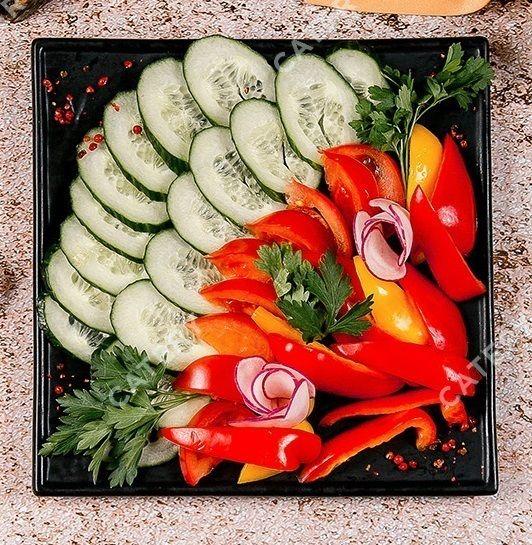 Сковородка Ассорти свежих овощ...