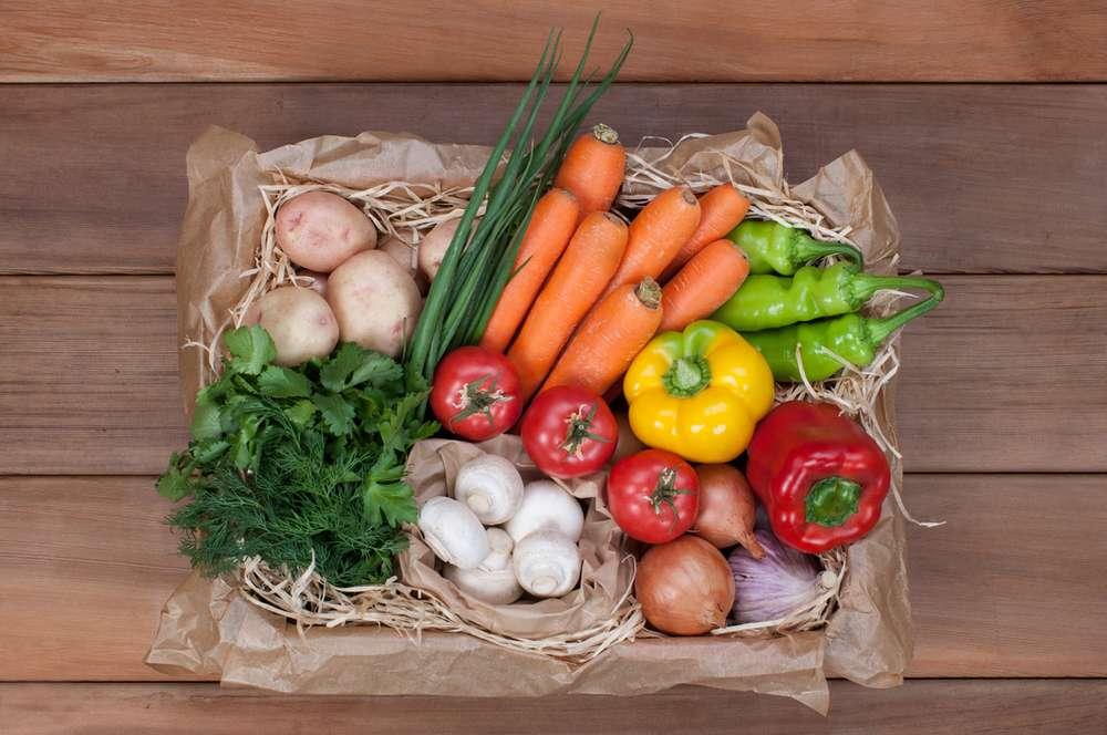 Ласточка Шампиньоны и овощи
