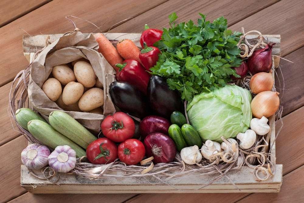 Ласточка Овощная коробка Баклажан