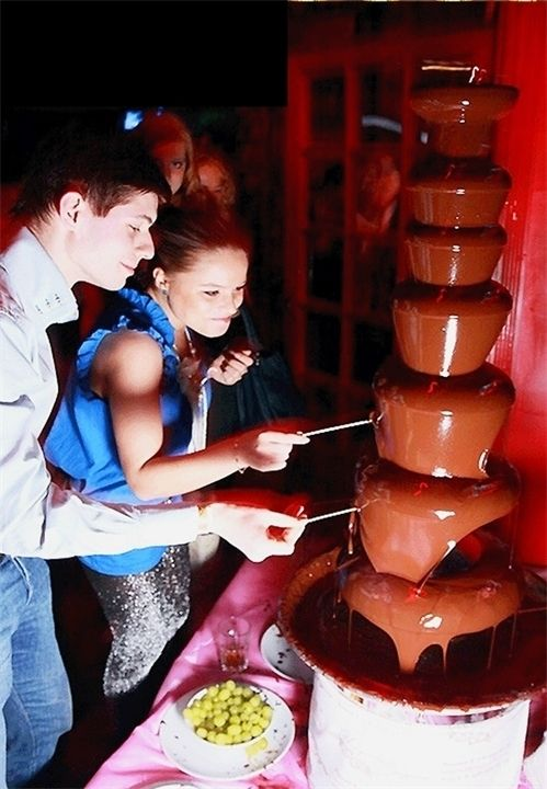 CrazyCandy Шоколадный фонтан — 110 см